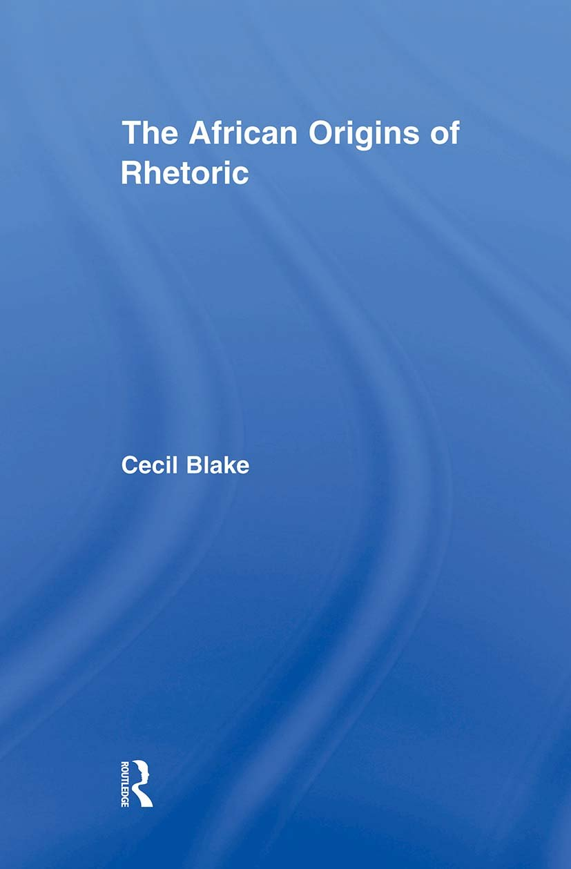 The African Origins of Rhetoric: 1st Edition (Paperback) book cover