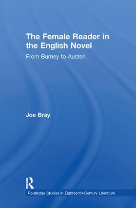 The Female Reader in the English Novel: From Burney to Austen (Paperback) book cover