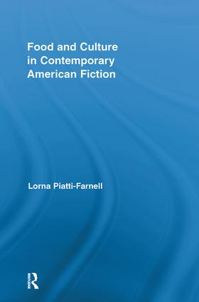 Food and Culture in Contemporary American Fiction (Hardback) book cover