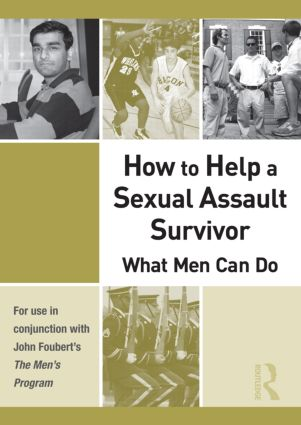 How to Help a Sexual Assault Survivor: What Men Can Do (DVD) book cover