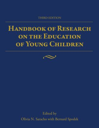 Handbook of Research on the Education of Young Children: 3rd Edition (Paperback) book cover