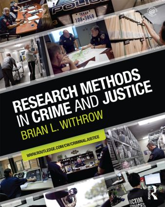 Research Methods in Crime and Justice (Paperback) book cover