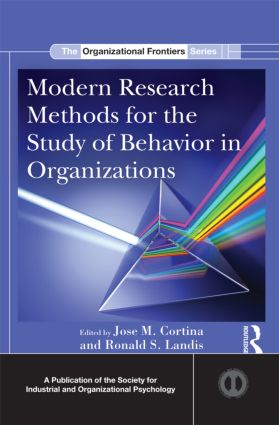 Modern Research Methods for the Study of Behavior in Organizations (Hardback) book cover