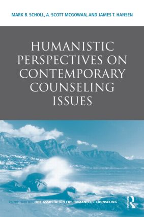 Humanistic Perspectives on Contemporary Counseling Issues (Hardback) book cover