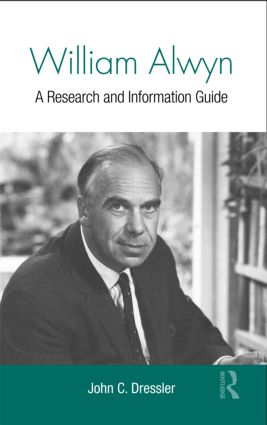 William Alwyn: A Research and Information Guide (Hardback) book cover