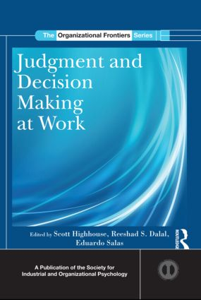 Judgment and Decision Making at Work (Hardback) book cover