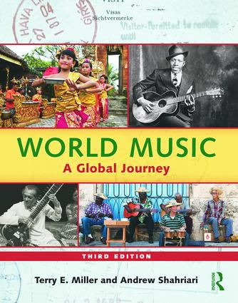 World Music: A Global Journey - Paperback Only, 3rd Edition (Paperback) book cover