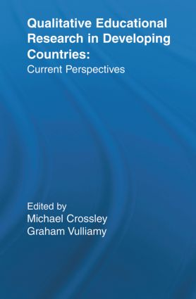 Qualitative Educational Research in Developing Countries: Current Perspectives (Paperback) book cover