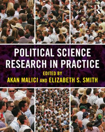 Political Science Research in Practice (Paperback) book cover