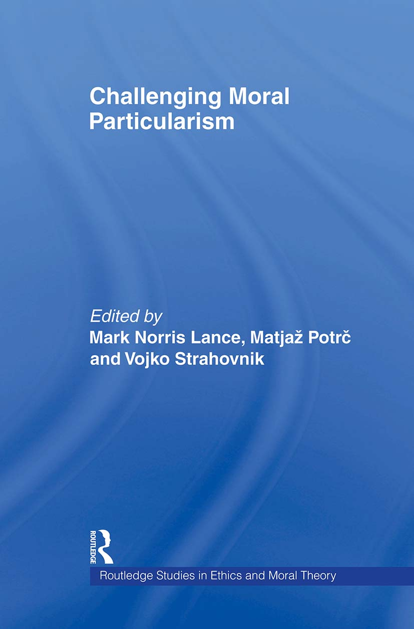 Challenging Moral Particularism (e-Book) book cover