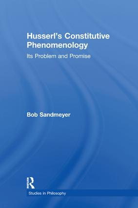 Husserl's Constitutive Phenomenology