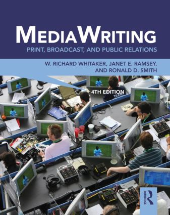 MediaWriting: Print, Broadcast, and Public Relations, 4th Edition (Paperback) book cover