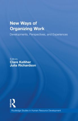 New Ways of Organizing Work: Developments, Perspectives, and Experiences book cover