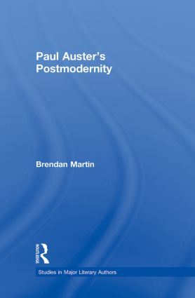 Paul Auster's Postmodernity: 1st Edition (Paperback) book cover
