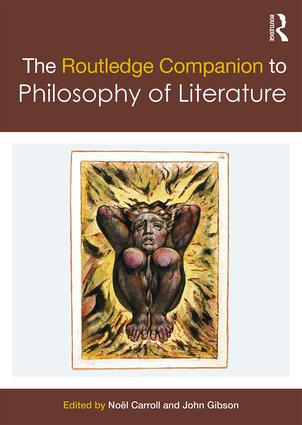 The Routledge Companion to Philosophy of Literature book cover