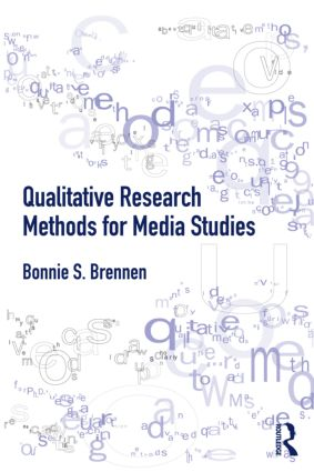 Qualitative Research Methods for Media Studies (Paperback) book cover