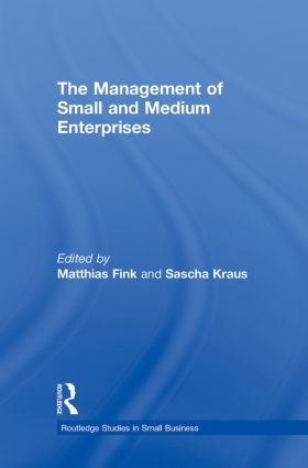 The Management of Small and Medium Enterprises book cover