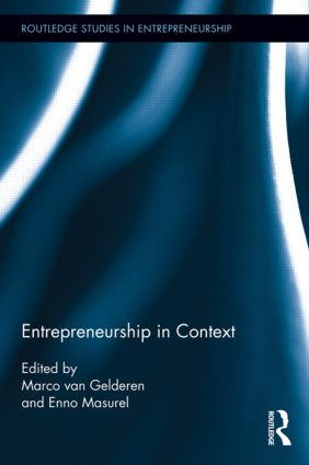 Entrepreneurship in Context (Hardback) book cover
