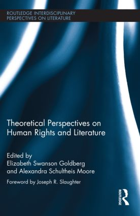 Theoretical Perspectives on Human Rights and Literature (Hardback) book cover