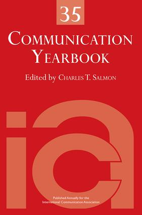 Communication Yearbook 35 (Hardback) book cover