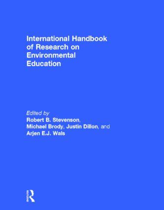 International Handbook of Research on Environmental Education (Hardback) book cover