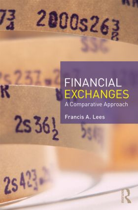 Financial Exchanges: A Comparative Approach (Paperback) book cover