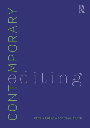 Contemporary Editing: 3rd Edition (Paperback) book cover