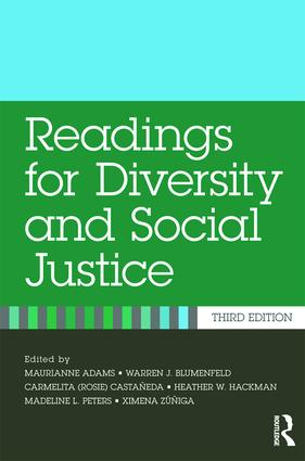 Readings for Diversity and Social Justice: 3rd Edition (Paperback) book cover