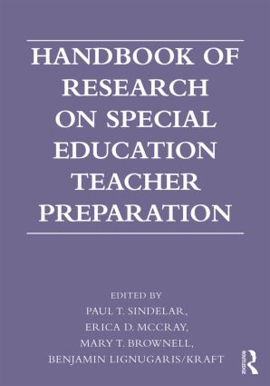 Handbook of Research on Special Education Teacher Preparation (Paperback) book cover