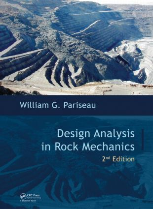 Design Analysis in Rock Mechanics, Second Edition: 2nd Edition (Hardback) book cover