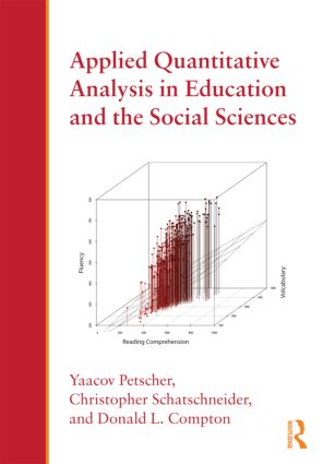 Applied Quantitative Analysis in Education and the Social Sciences (Paperback) book cover