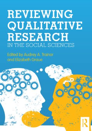 Reviewing Qualitative Research in the Social Sciences (Paperback) book cover