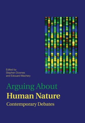 Arguing About Human Nature: Contemporary Debates (Paperback) book cover