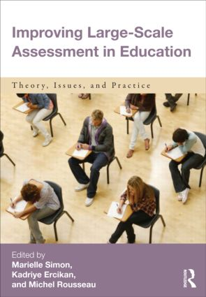 Improving Large-Scale Assessment in Education: Theory, Issues, and Practice (Paperback) book cover
