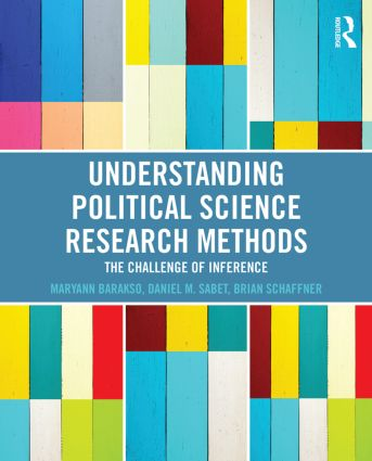 Understanding Political Science Research Methods: The Challenge of Inference (Paperback) book cover