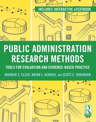 Public Administration Research Methods: Tools for Evaluation and Evidence-Based Practice (Paperback) book cover