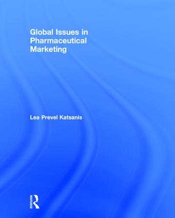 Global Issues in Pharmaceutical Marketing: 1st Edition (Hardback) book cover