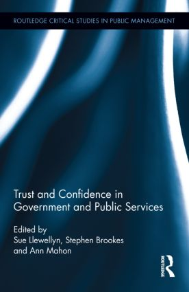Trust and Confidence in Government and Public Services (Hardback) book cover