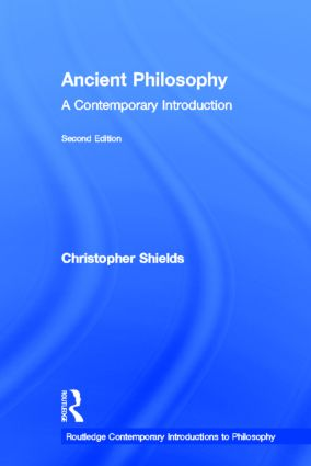 Ancient Philosophy: A Contemporary Introduction book cover