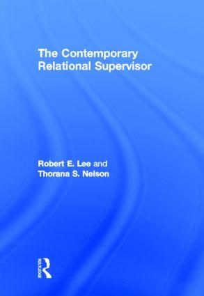 The Contemporary Relational Supervisor (Hardback) book cover