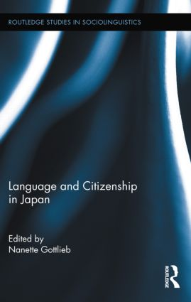 Language and Citizenship in Japan (Hardback) book cover