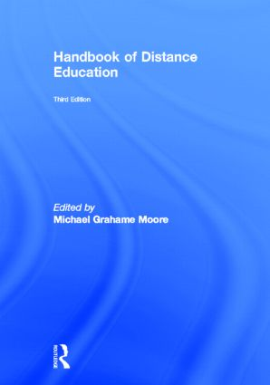 Handbook of Distance Education: 3rd Edition (Hardback) book cover