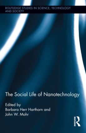 The Social Life of Nanotechnology (Hardback) book cover