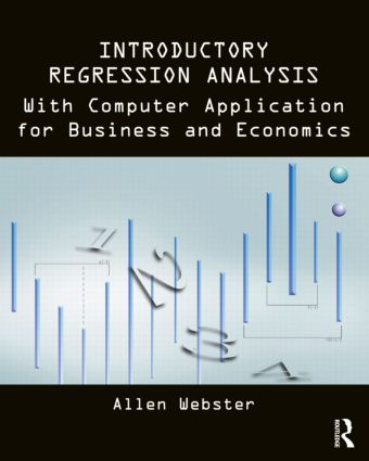 Introductory Regression Analysis: with Computer Application for Business and Economics (Paperback) book cover