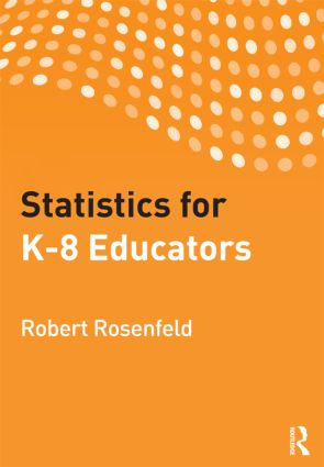 Statistics for K-8 Educators (Paperback) book cover