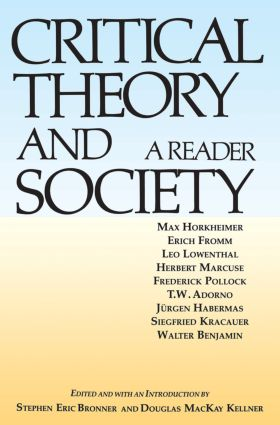 Critical Theory and Society: A Reader (Paperback) book cover