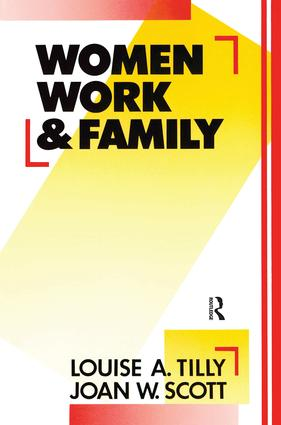 Women, Work and Family (Paperback) book cover