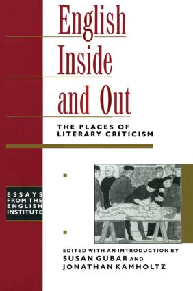 English Inside and Out: The Places of Literary Criticism book cover