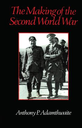 The Making of the Second World War (e-Book) book cover
