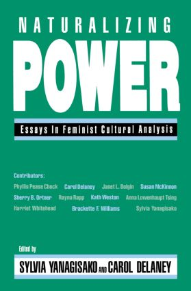 Naturalizing Power: Essays in Feminist Cultural Analysis, 1st Edition (e-Book) book cover